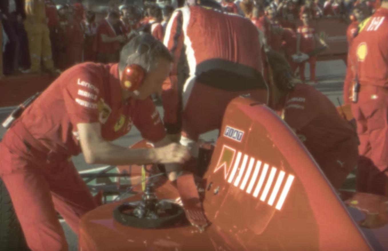 Modern Ferrari Racing Shot With 50-Year-Old Cameras