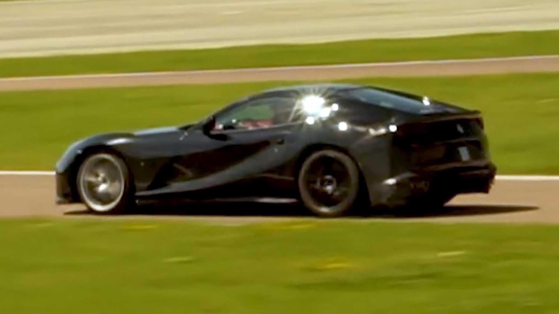 Ferrari 812 hardcore version screenshot from spy video
