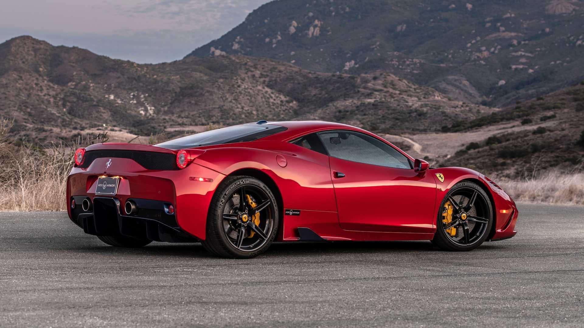 Bulletproof Ferrari 458 Speciale By AddArmor Side View