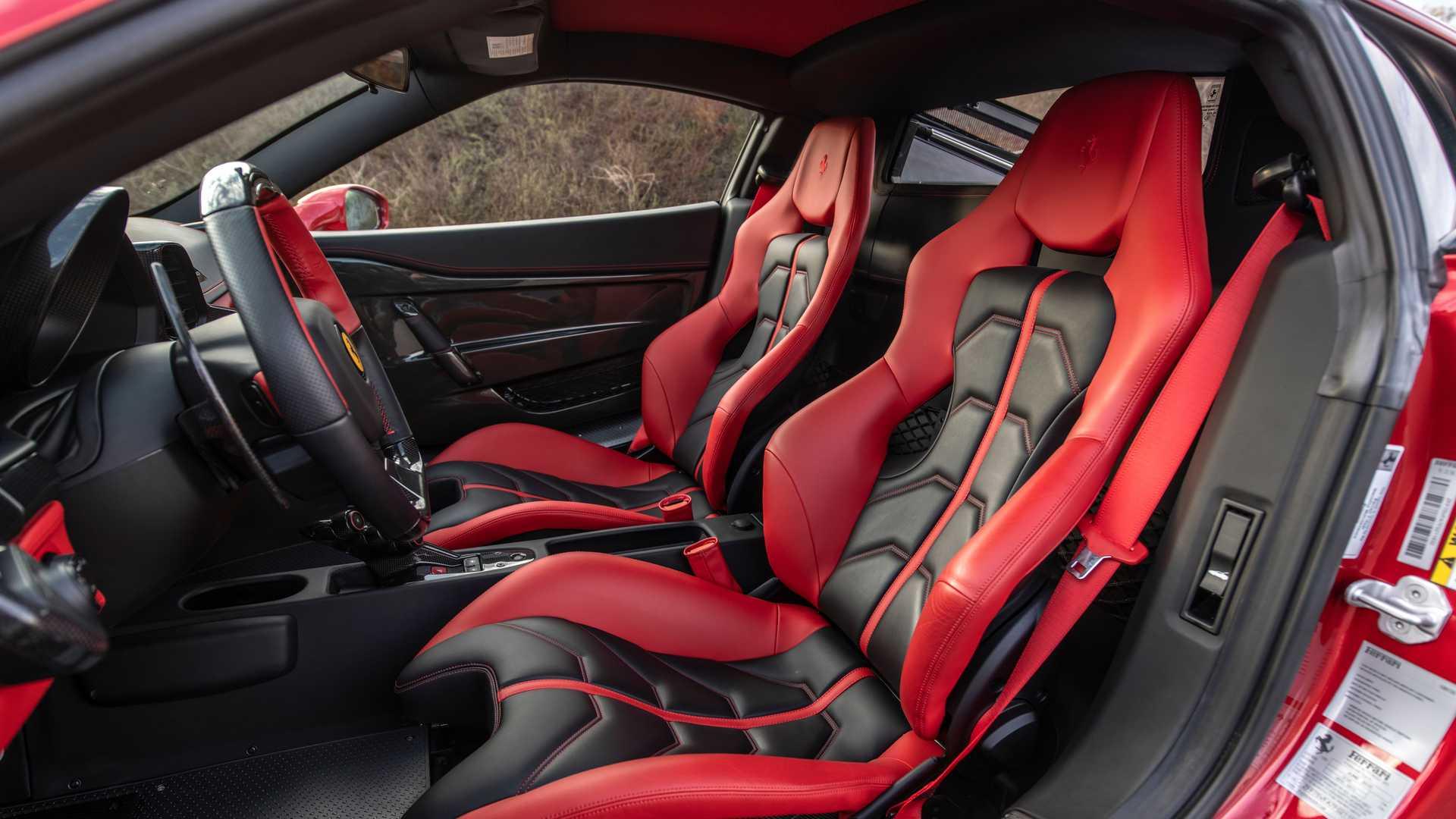 Bulletproof Ferrari 458 Speciale By AddArmor Interior