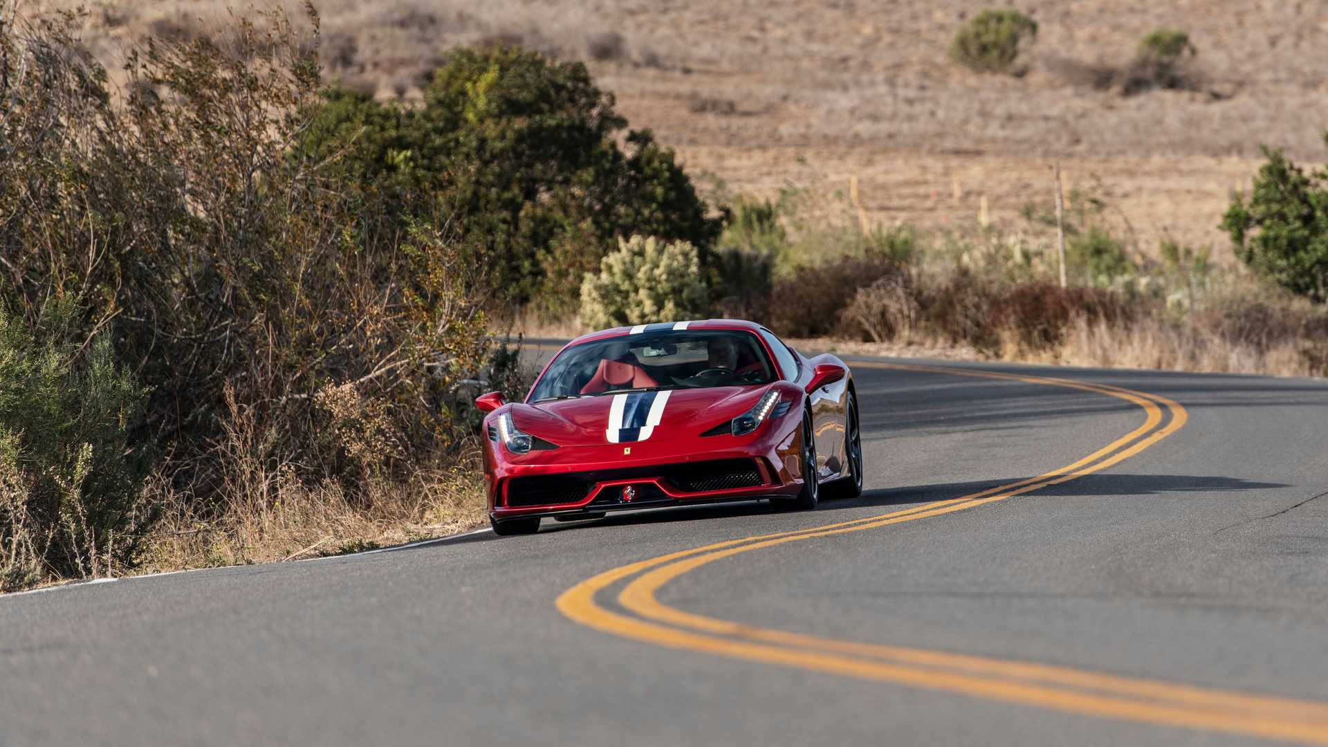 Bulletproof Ferrari 458 Speciale By AddArmor Front View