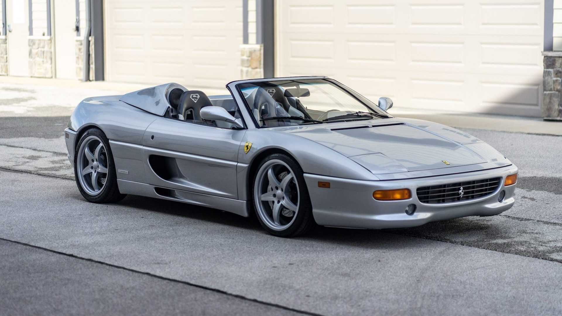 Shaquille O'Neal's Ferrari F355 Spider For Sale Is Ready For Big Guys