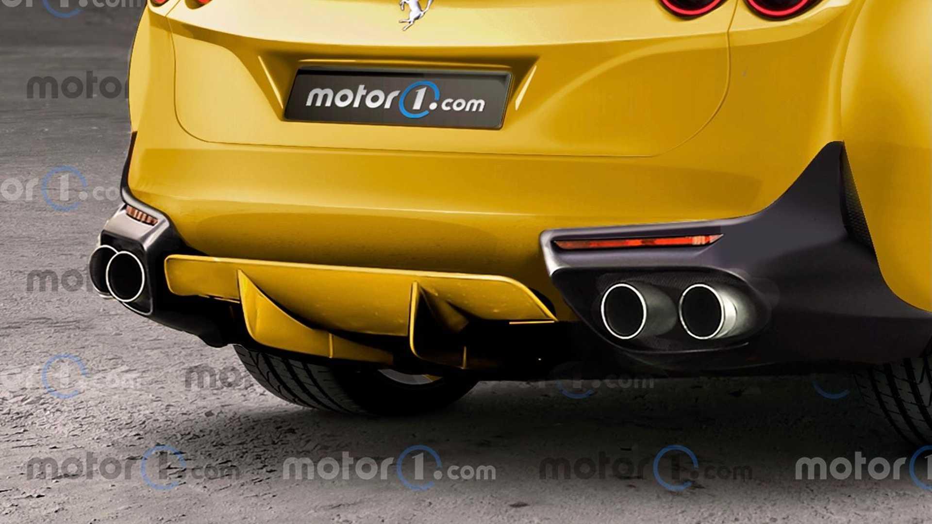 Ferrari Purosangue Renderings