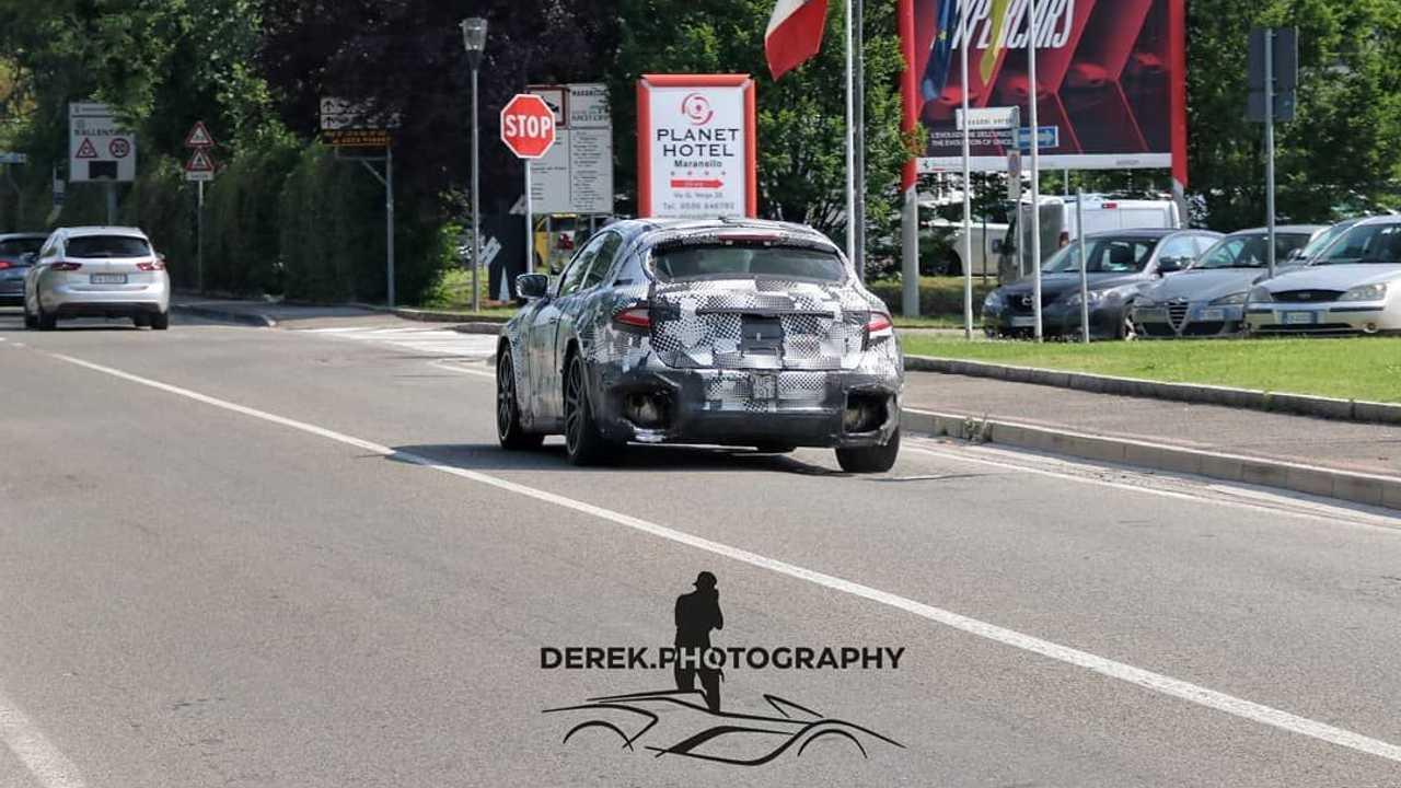 2023 Ferrari Purosangue SUV spy photo