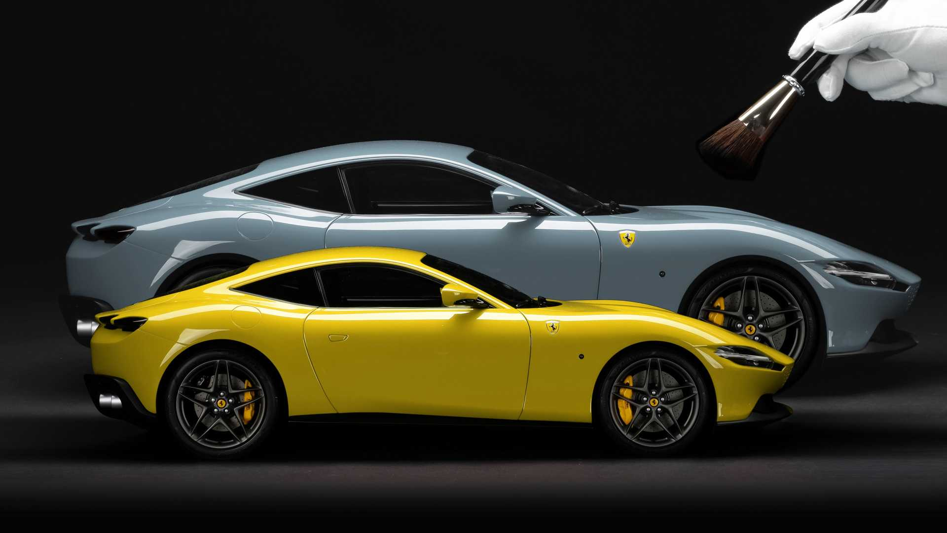 New Ferrari Option Offers Owners An Exact Scale Model Of Their Car