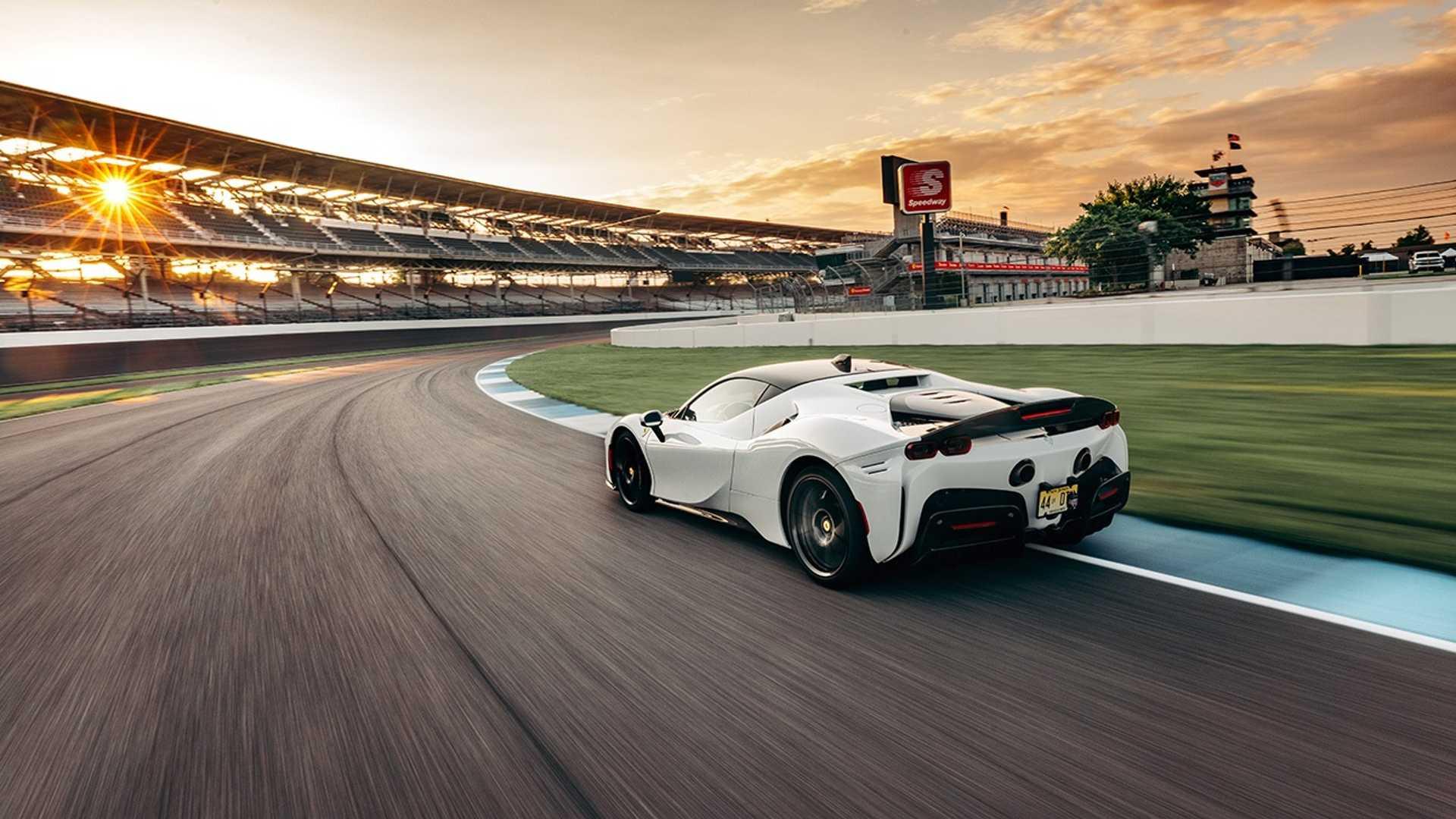 Ferrari Just Set A New Lap Record At America's Most Famous Track