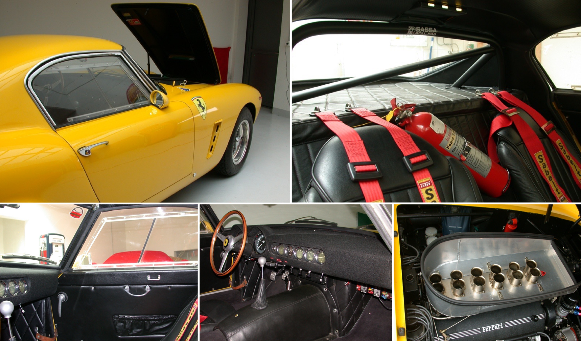Bizzarrini Used 250 Gt Swb Comp 1791gt As Test Bed For Gto Ferrarichat